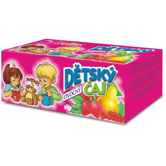 VITTO čaj Dětský ovocný porcovaný 40 g