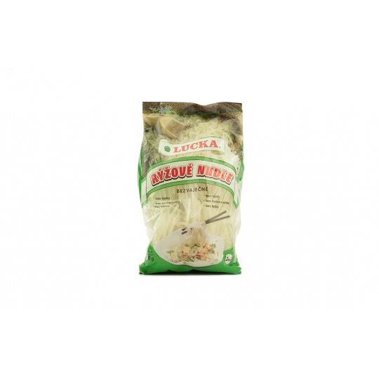 Těstoviny rýžové nudle bezlepkové 3mm Lucka 240 g