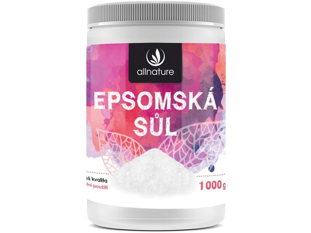 Epsomská sůl 1000g