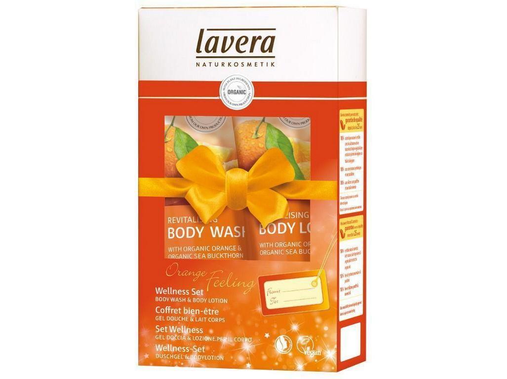 Bio Lavera Dárkový Wellness Pomerančové zážitky