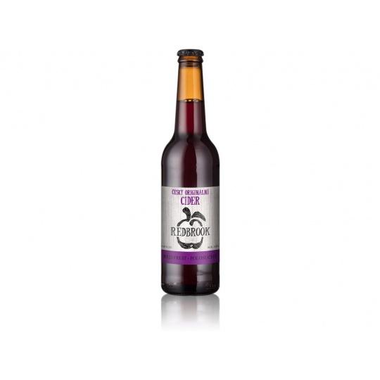 Cider Red Fruit polosuchý 4%  0,33l