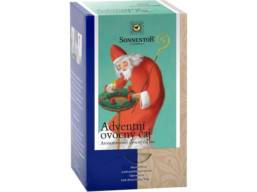 Bio Adventní ovocný čaj 50,4g dvoukomorový