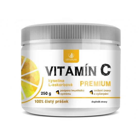 Vitamín C Premium prášek 250g
