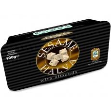 Sezamová chalva ve vaničce + mandle 100g