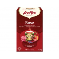 Bio Růže Yogi Tea 17 x 2 g