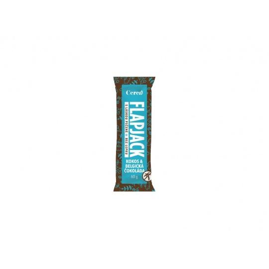 Ovesná tyčinka Flapjack Kokos - Belgická čokoláda 60g