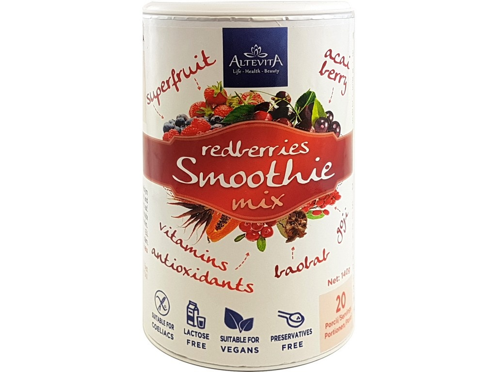 Redberries smoothie mix 140g