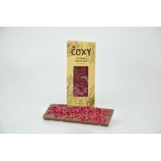 Čokoláda s malinami a xylitolem - ČOXY 50 g