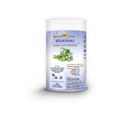 Ajurvéda med Brahmi 5x15g Tubus - podpora paměti
