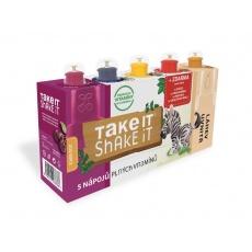 Take it shake it ZEBRA 5x20ml mix ovocný nápoj