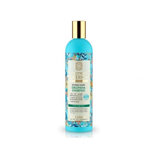 Rakytníkový šampon pro všechny typy vlasů maximální objem 400ml