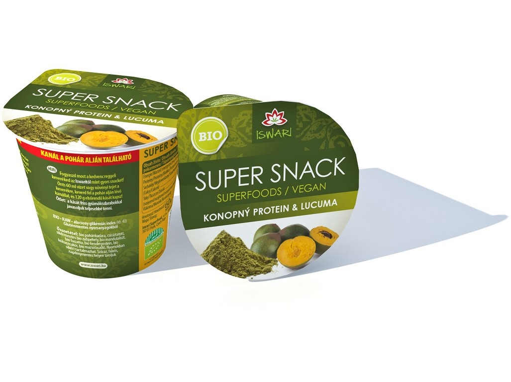 Bio SuperSnack konopný protein-lucuma 60g