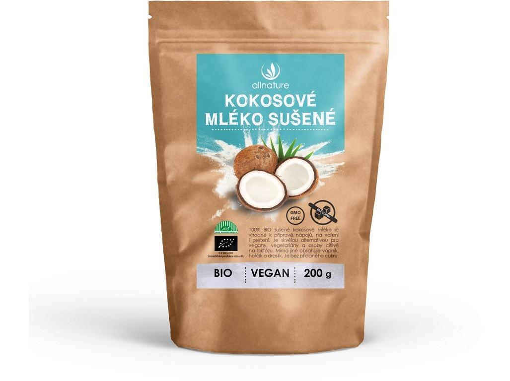 Bio kokosové mléko sušené 200g