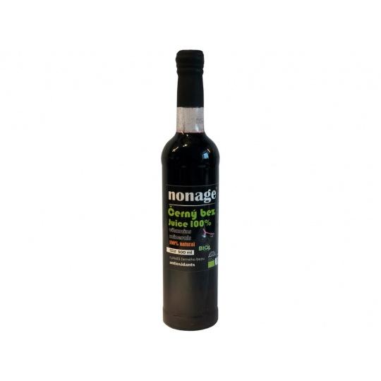 Bio Premium Bez černý plod 100% juice 500ml