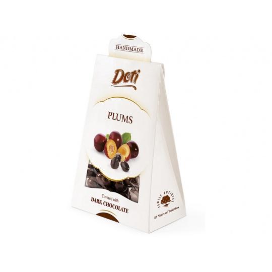 Švestky v čokoládě - dárková taštička 100g