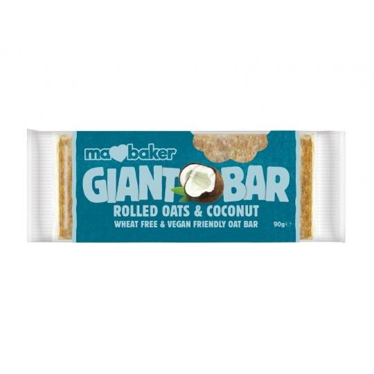 Tyčinka ovesná Giant bar Obří Kokosová 90g