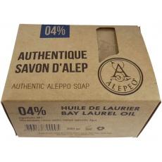 Bio Mýdlo s vavřínovým olejem 4% Alepeo 190g