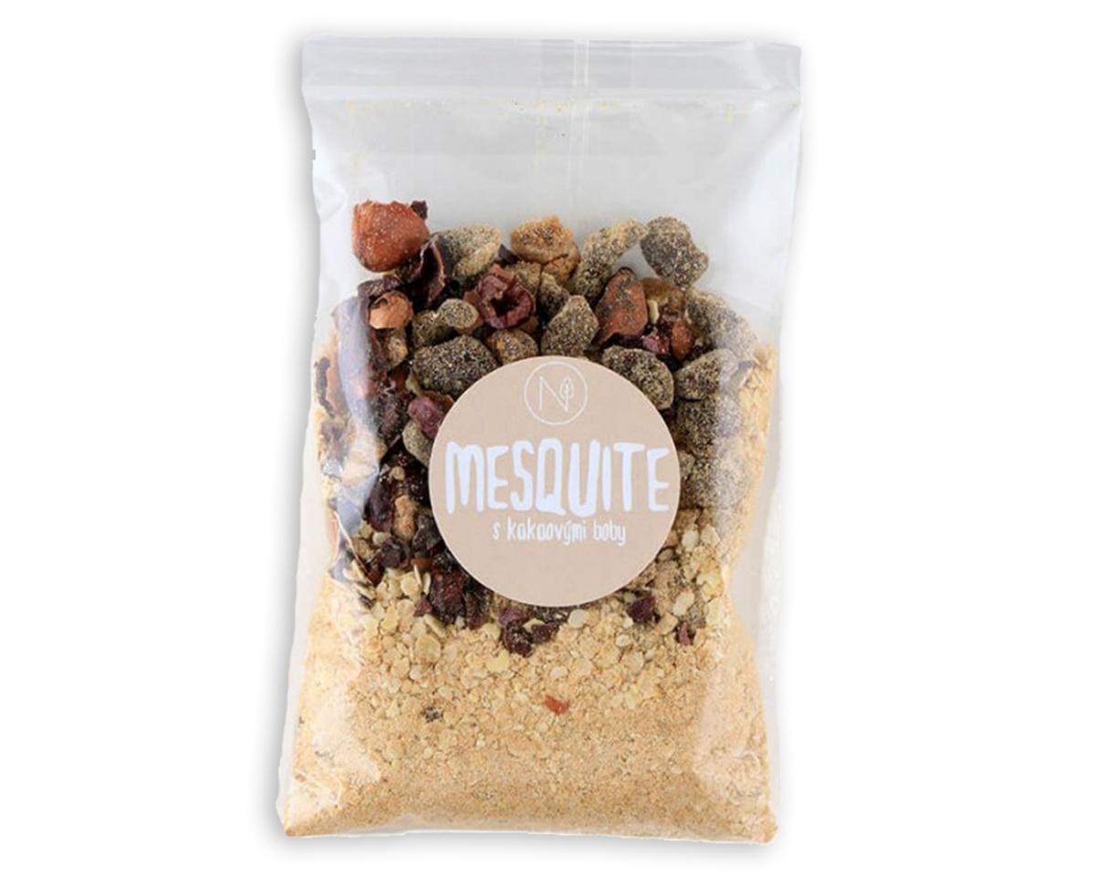 Superkaše MESQUITE s kakaovými boby a fíky 70 g