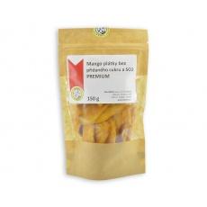 Mango plátky bez přidaného cukru a SO2 PREMIUM 150g