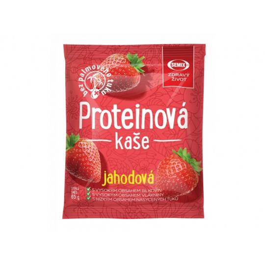 Proteinová kaše jahodová  65 g