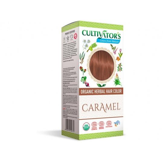 Bio přírodní barva na vlasy 100% 15 - Karamelová 100g