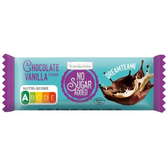 Tyčinka Čokoláda Vanilka bez přidaného cukru 50g