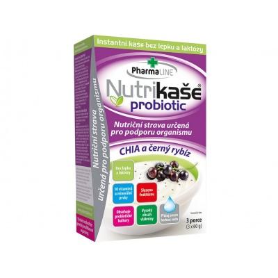 Nutrikaše probiotic chia a černý rybíz (3x60g)
