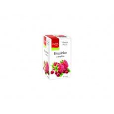 Čaj Brusinka a malina 20x2g