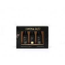 Dárkový set (hořčičný, vlašský, sezamový olej) 3x100ml
