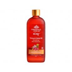Ženský tělový olej s revitalizujícím růžovým geraniolem 120ml