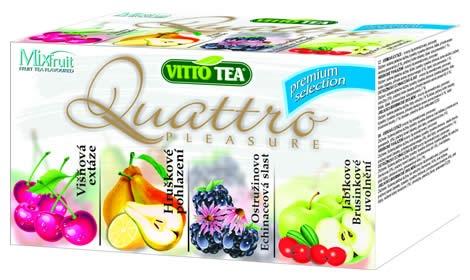 MIX QUATTRO ORIGINAL čaj porcovaný 40 g