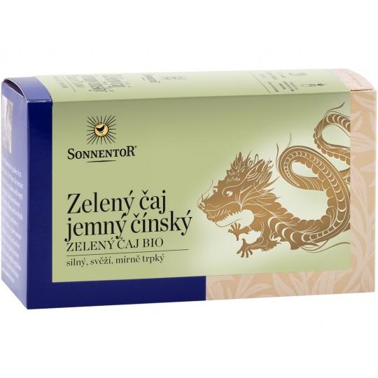 Bio Zelený čaj - jasmín porc. dárkový 27g