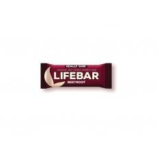 Bio tyčinka Lifebar červená řepa se slunečnicovými semínky 47g