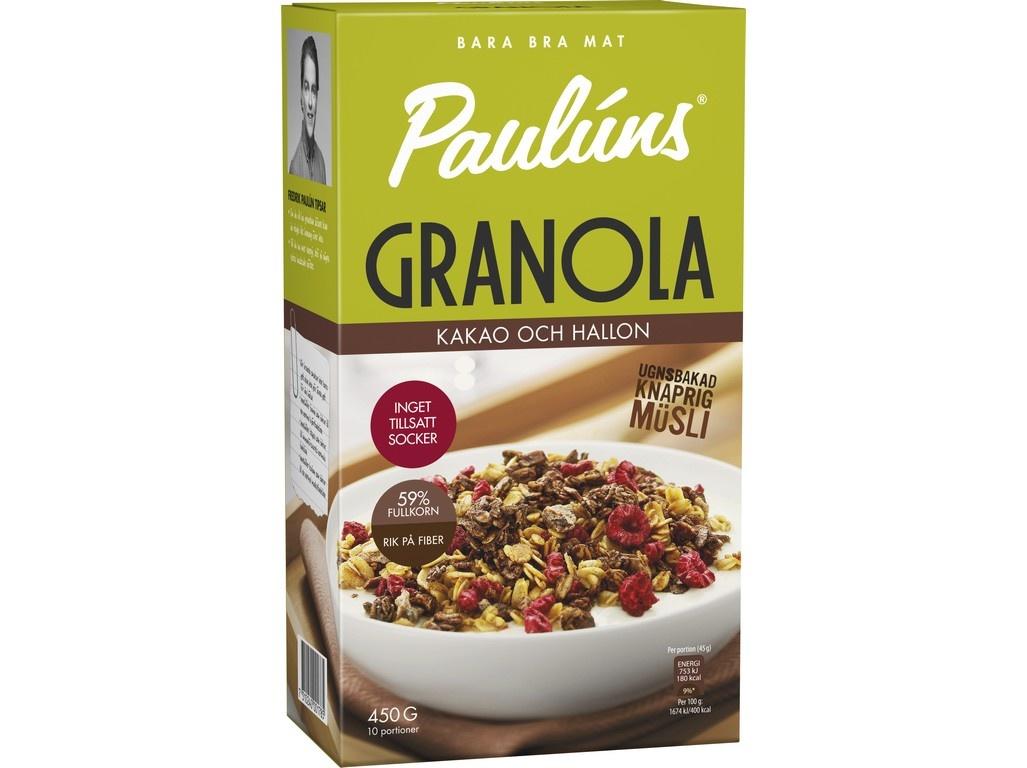 Granola s kakaem a malinami 450g