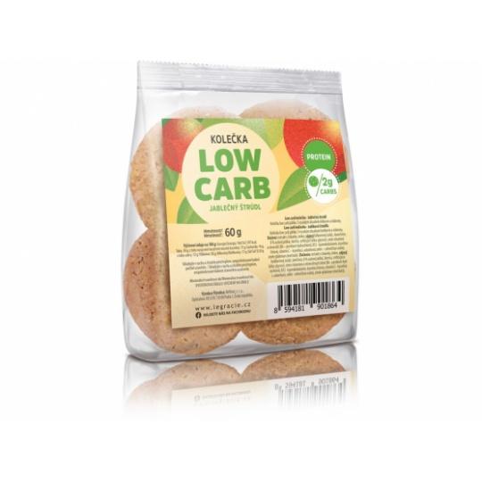 Low Carb   KETO sušenky s vitamíny – jablečný štrúdl 60g