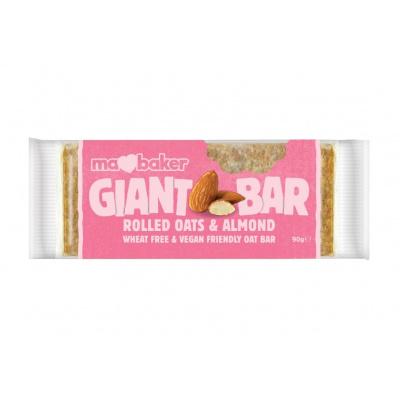 Tyčinka ovesná Giant bar Obří Mandlová 90g