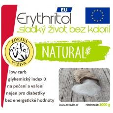 ERYTHRITOL EU 1000 g (vyrobeno ve Francii)