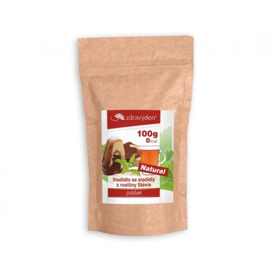 Stévia práškové sladidlo 100%, 100 g