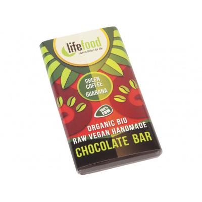 Bio Lifefood mini čokoládka se zelenou kávou a guaranou 15g