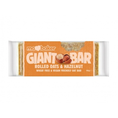Tyčinka ovesná Giant bar Obří  Lískový ořech 90g