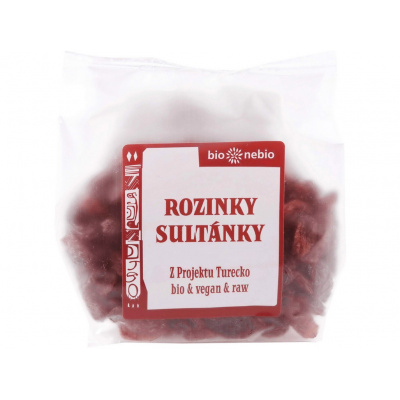 Bio Rozinky sultánky 150g