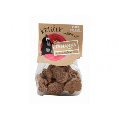 Bio Krtkovy malinové sušenky 100 g