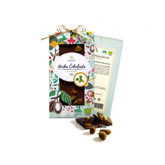 Bio čokoláda s moruší - hořká 80g