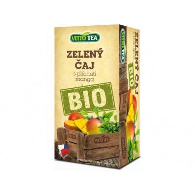 BIO čaj Zelený a mango porcovaný 30 g