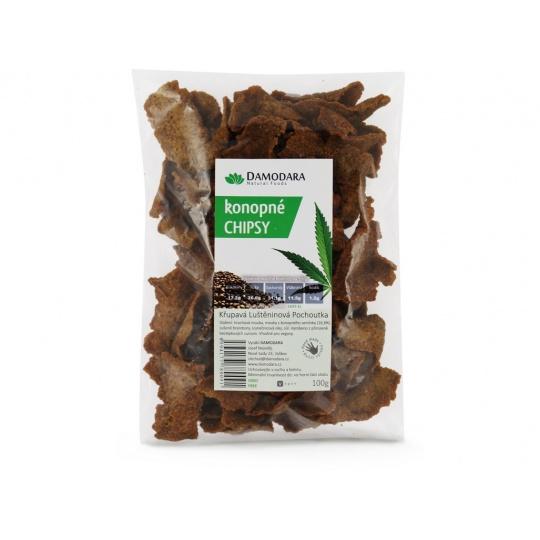 Konopné chipsy 100g