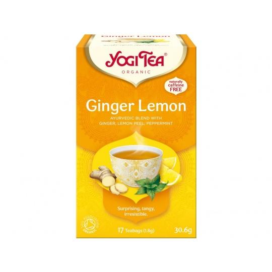 Bio Zázvor Citrón Yogi Tea 17 x 1,8 g