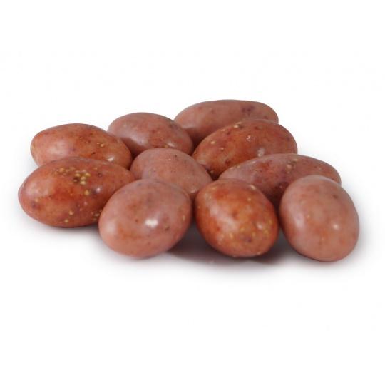 Mandle Jahodové v bílé čokoládě 3kg