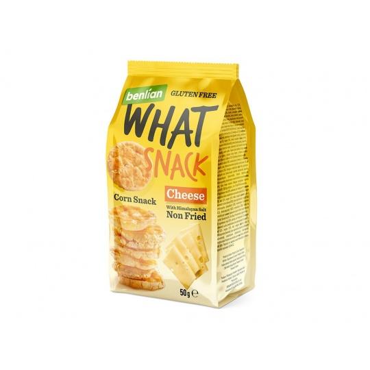 Kukuřičný slaný snack Sýr 50g