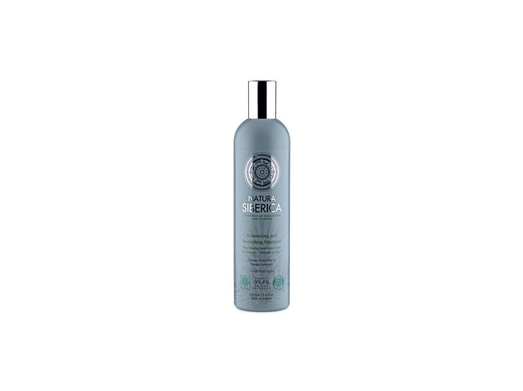 """Šampon pro všechny typy vlasů """"Objem a péče"""" 400 ml"""