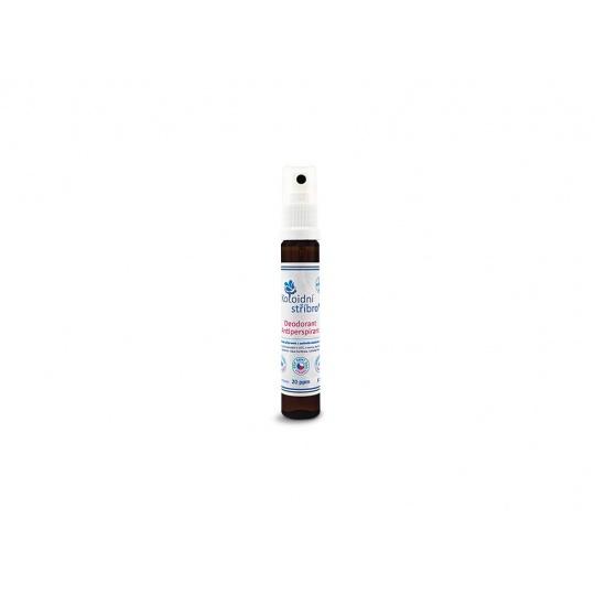 Koloidní stříbro sprej 25 ml - Deodorant - Antiperspirant 20 ppm